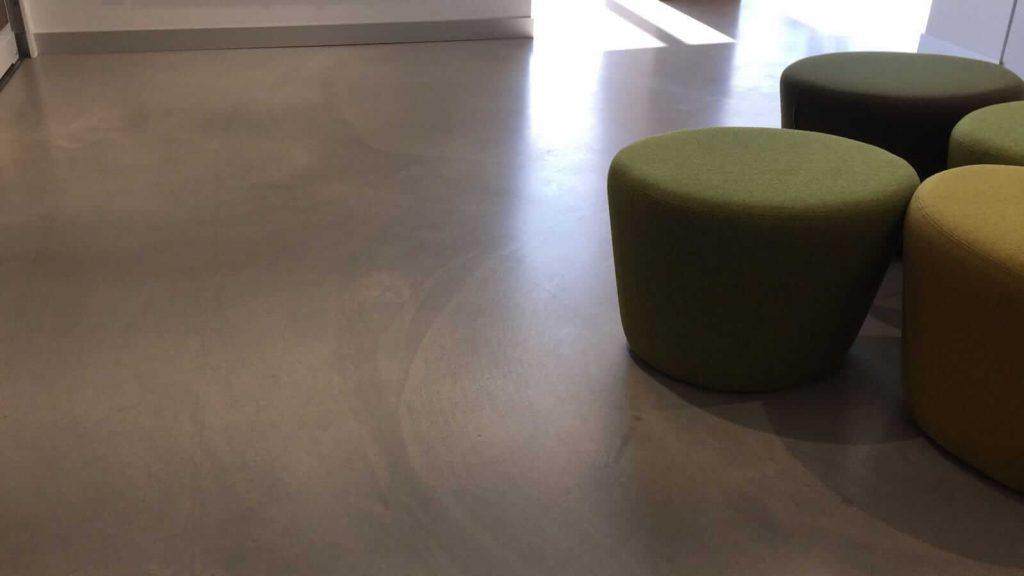 brüt beton uygulama 1
