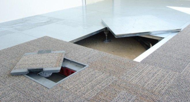 enkapsüle panel yükseltilmiş zemin döşeme